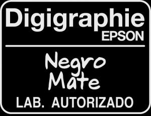 Impresión certificada de obras de arte y fotografía | Negro mate